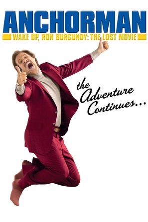 Wake Up, Ron Burgundy: The Lost Movie - DVD movie cover (thumbnail)