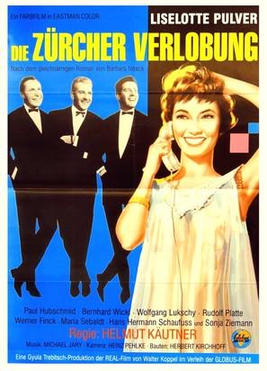 Die Zürcher Verlobung - German Movie Poster (thumbnail)