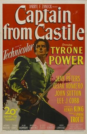 Captain from Castile - Movie Poster (thumbnail)