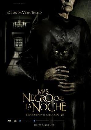 Más negro que la noche - Mexican Movie Poster (thumbnail)