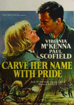 Carve Her Name with Pride - Movie Poster (thumbnail)