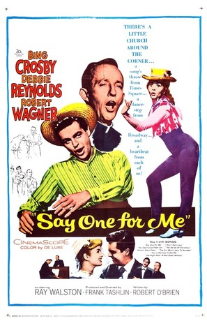 Say One for Me - Movie Poster (thumbnail)