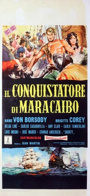Il conquistatore di Maracaibo - Italian Movie Poster (thumbnail)