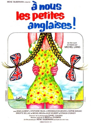 À nous les petites Anglaises - French Movie Poster (thumbnail)