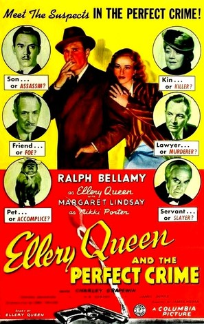 Ellery Queen and the Perfect Crime - Movie Poster (thumbnail)