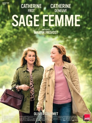 Sage femme - French Movie Poster (thumbnail)