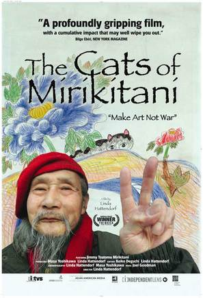 The Cats of Mirikitani - Movie Poster (thumbnail)