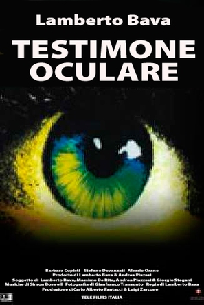 Testimone oculare - Italian Movie Poster (thumbnail)