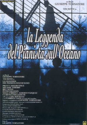 La leggenda del pianista sull'oceano - Italian Movie Poster (thumbnail)