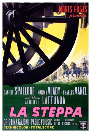La steppa - Italian Movie Poster (thumbnail)