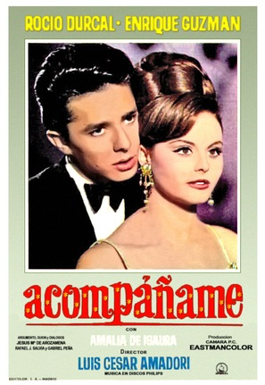 Acompáñame - Spanish Movie Poster (thumbnail)