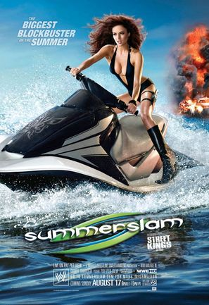 WWE Summerslam - Movie Poster (thumbnail)