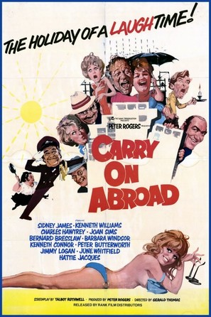 Carry on Abroad - British Movie Poster (thumbnail)