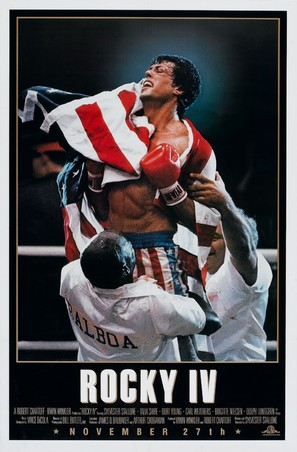 Rocky IV - Movie Poster (thumbnail)