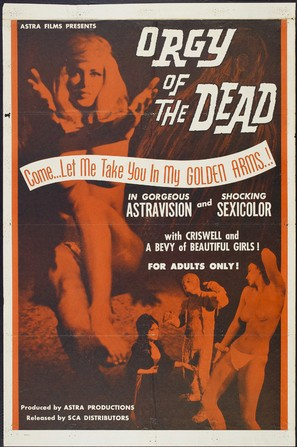 Orgy of the Dead - Movie Poster (thumbnail)