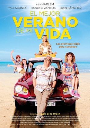 El mejor verano de mi vida - Spanish Movie Poster (thumbnail)