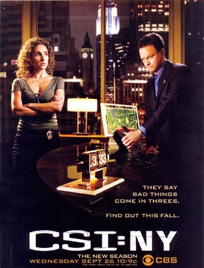 """CSI: NY"" - Movie Poster (thumbnail)"