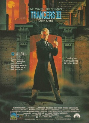 Trancers III - Video release poster (thumbnail)
