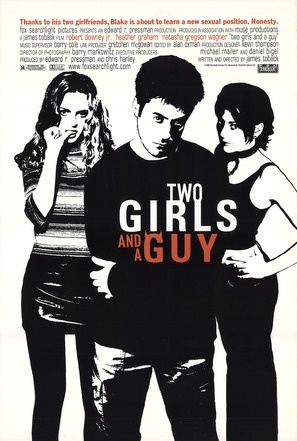 Two Girls and a Guy - Movie Poster (thumbnail)