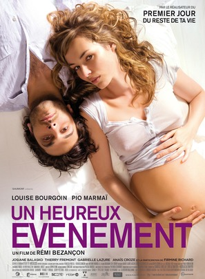Un heureux évenement - French Movie Poster (thumbnail)