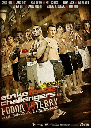 """Strikeforce Challengers"" - Movie Poster (thumbnail)"