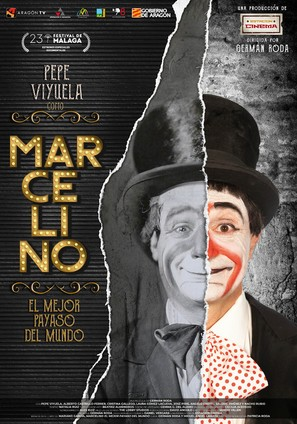 Marcelino, el mejor payaso del mundo - Spanish Movie Poster (thumbnail)