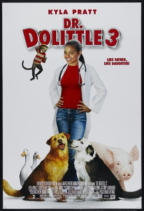 Dr Dolittle 3 - Movie Poster (thumbnail)