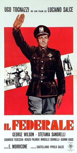 Il federale - Italian Movie Poster (thumbnail)