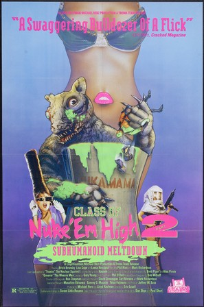 Class of Nuke 'Em High Part II: Subhumanoid Meltdown - Movie Poster (thumbnail)