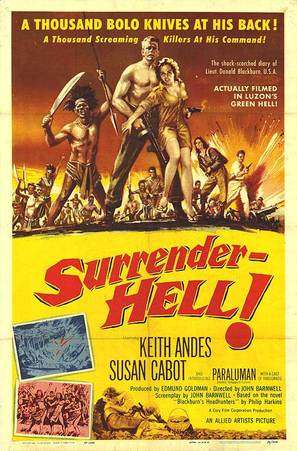 Surrender - Hell! - Movie Poster (thumbnail)