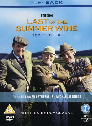 """""""Last of the Summer Wine"""" - British DVD movie cover (thumbnail)"""