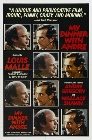 My Dinner with Andre - Theatrical movie poster (thumbnail)