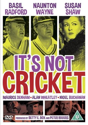 It's Not Cricket - British DVD movie cover (thumbnail)