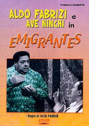 Emigrantes - Italian DVD movie cover (thumbnail)