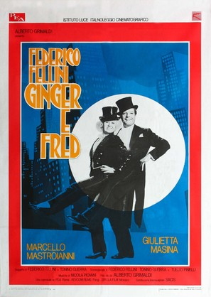 Ginger e Fred - Italian Movie Poster (thumbnail)