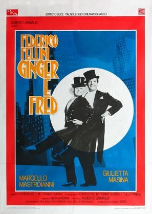 Ginger e Fred - Italian Movie Poster (thumbnail)