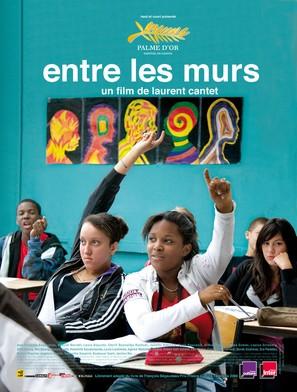 Entre les murs - French Movie Poster (thumbnail)