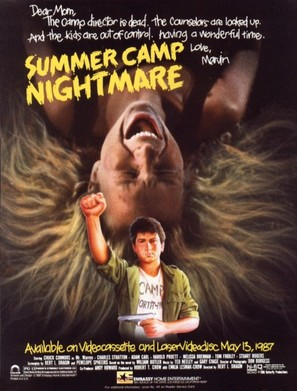 Summer Camp Nightmare - Movie Poster (thumbnail)