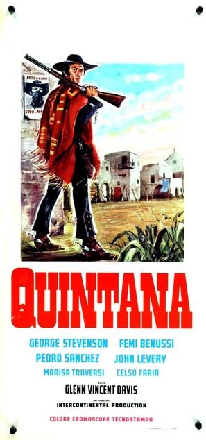 Quintana - Italian Movie Poster (thumbnail)