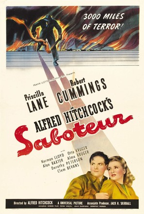 Saboteur - Movie Poster (thumbnail)