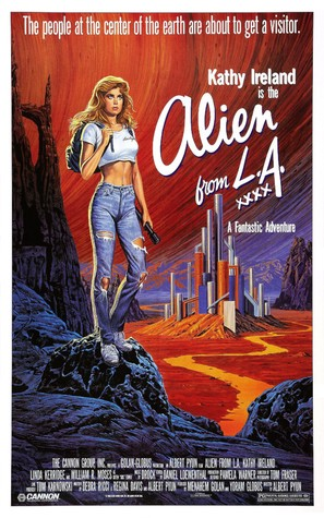 Alien from L.A. - Movie Poster (thumbnail)