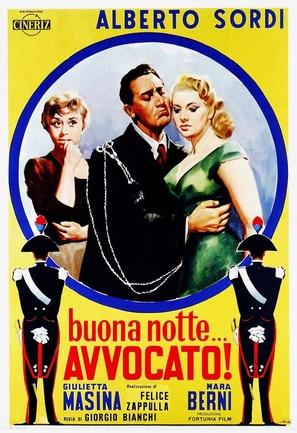 Buonanotte... avvocato! - Italian Movie Poster (thumbnail)