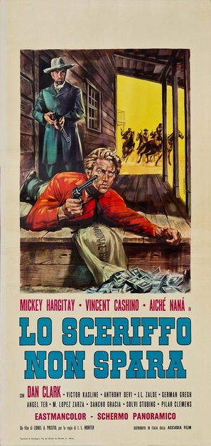 Lo sceriffo che non spara - Italian Movie Poster (thumbnail)