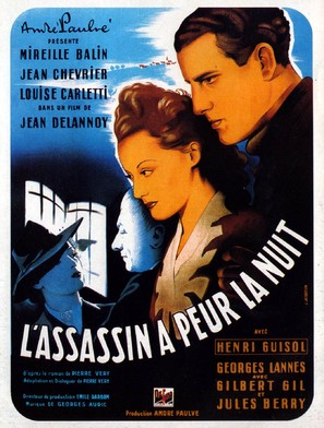 Assassin a peur la nuit, L' - French Movie Poster (thumbnail)