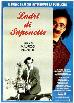 Ladri di saponette - Italian Movie Poster (thumbnail)