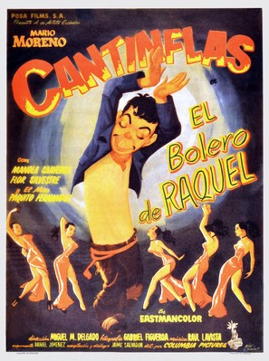 El bolero de Raquel - Mexican Movie Poster (thumbnail)