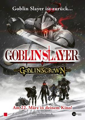 Goblin Slayer: Goblin's Crown - German Movie Poster (thumbnail)