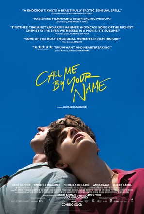 Call Me by Your Name - Movie Poster (thumbnail)