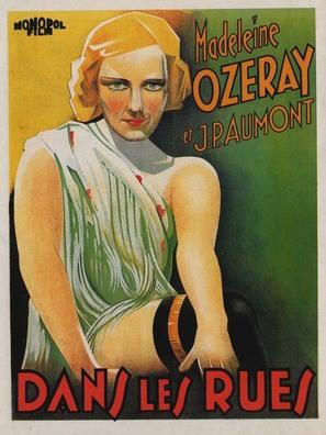 Dans les rues - Belgian Movie Poster (thumbnail)