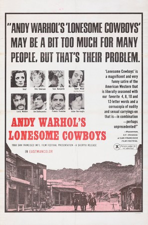 Lonesome Cowboys - Movie Poster (thumbnail)